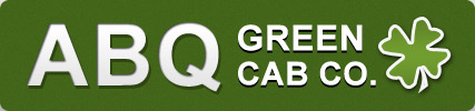 ABQ Green Cab Co. logo